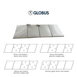 G3941 – B-MAT 200: materasso, cm 176×70, compost da 4 tappeti, di cui 2 con solenoidi (tot 8 solenoidi).