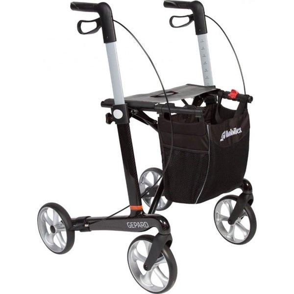 www.ausilium.it-Rollator-Gepard-con-Telaio-in-Fibra-di-Carbonio-Small-Mobilex-A-S